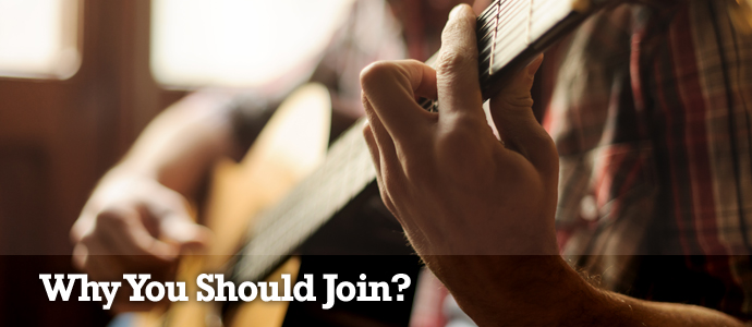 Why Join The Gospelworkshop? Guitar lessons with TGW