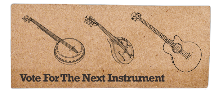 Vote for the next instrument